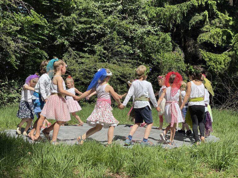 Sommerfest im Waldkindergarten